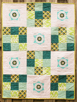 auction quilt Baby Kate