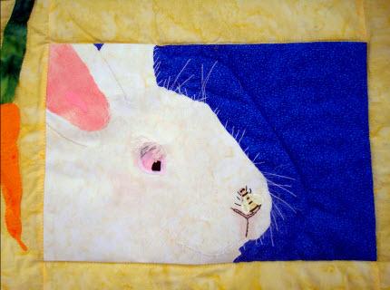 tutorial embellish quilt