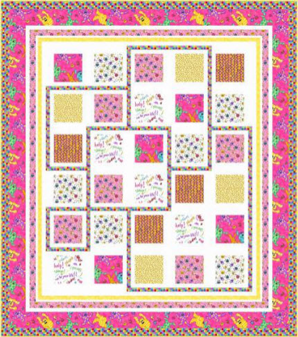 Quilt Patterns Pillowcases : Free patterns: Monster Mash quilt & pillowcase Quilting