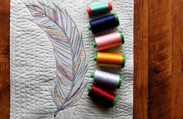 Sketch Stitching MaureenCracknellHandmade