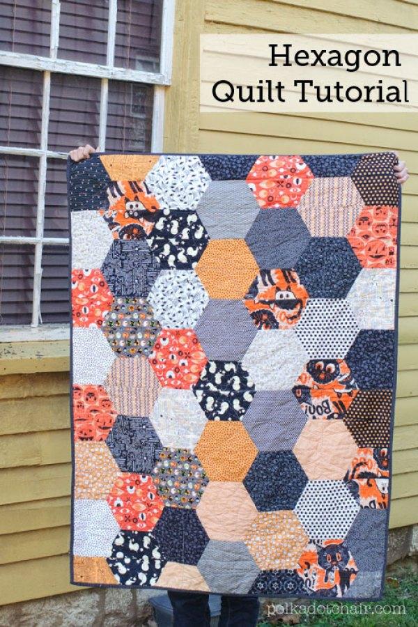 large-hexagon-quilt-tutorial