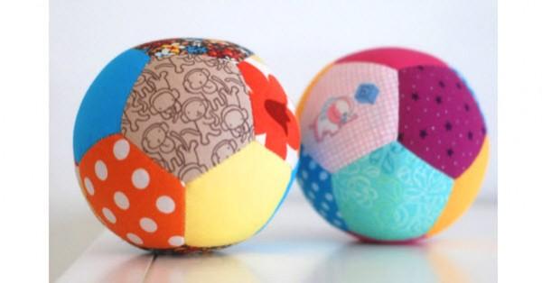 Patchwork Balls Baby Gift