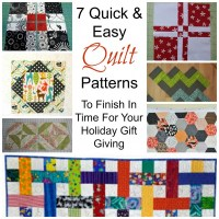 7 Quick & Easy Quilt Patterns