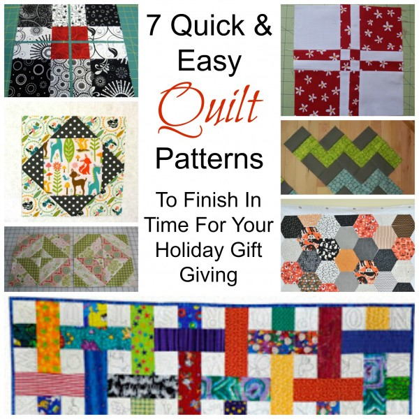 7 Quick & Easy Quilt Patterns – Quilting : quick quilt ideas - Adamdwight.com