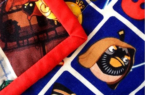 quilt binding tutorial Crafty Mummy Tonya
