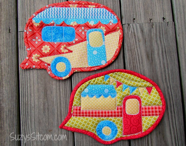 Camper Pot Holder pattern tutorial