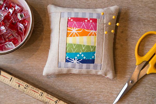 Free pattern pincushion
