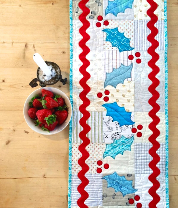 Groovy Christmas Table Runner Free Pattern Tute Quilting Home Remodeling Inspirations Propsscottssportslandcom