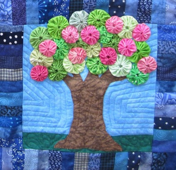 8 Ways To Use Yo Yo S In A Quilt Quilting