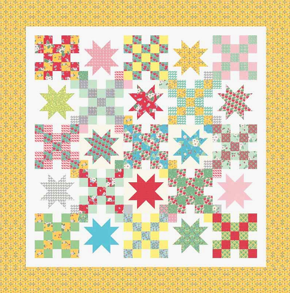 Humble BumbleBerries Quilt