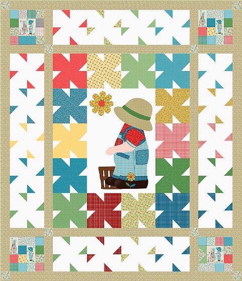 Sunny Boy Quilt Pattern Benartex