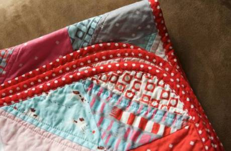 How to make Rounded Quilt Corners