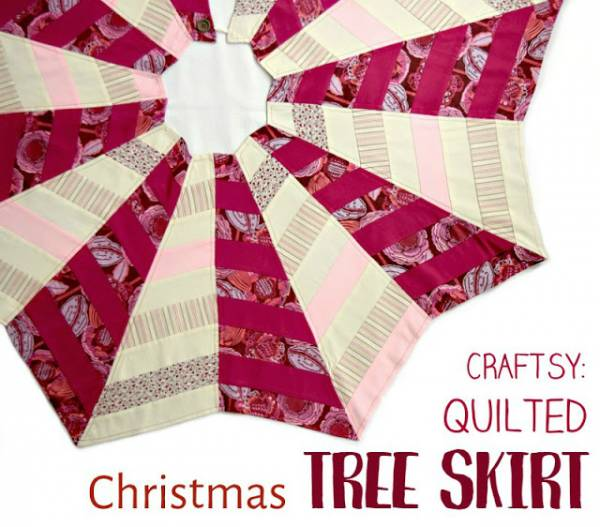 Quilted Christmas Tree Skirt Patterns: Easy Quilted Christmas Tree Skirt