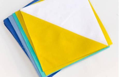 Quilting Tutorial – Half Square