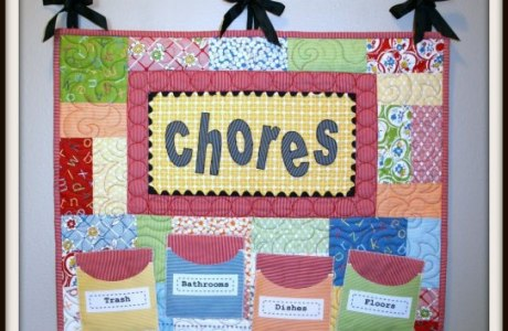 Quilted Chore Chart