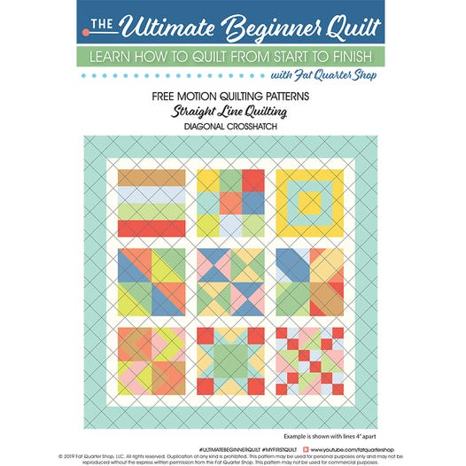 Free Motion Quilting Patterns Free Pdf Pattern Quilting