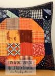 Scrap Fabric Pumpkin Quilt Block Tutorial and Table Runner Pattern