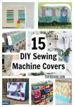Sewing Patterns - 15 Sewing Machine Covers