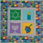 Hanukkah Sampler Quilt - Free Pattern