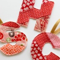 How to Make Quilted Initials