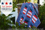 Patriotic Pineapple Quilt - Free Pattern
