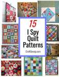 15 I Spy Quilt Designs