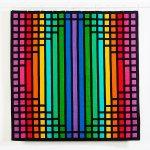 Geometric Rainbow Wall Hanging Quilt Kit