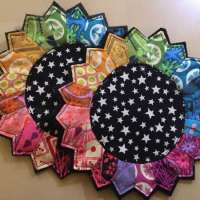How to Make a Quilted Dresden Mug Rug