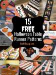 15 Free Halloween Quilted Table Runner Patterns