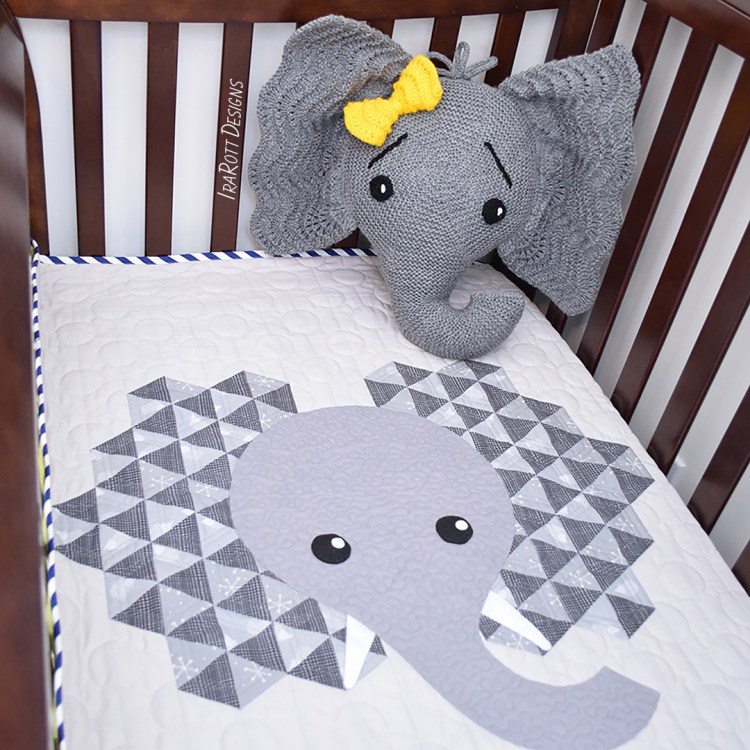 Knit Elephant Pattern By IraRott