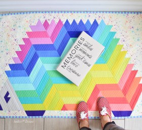 Needles The Hedgehog Jelly Roll Rug Pattern by IraRott