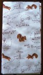Map of Buried Treasure Fabric