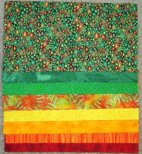 Zipper Quilt - Fabric