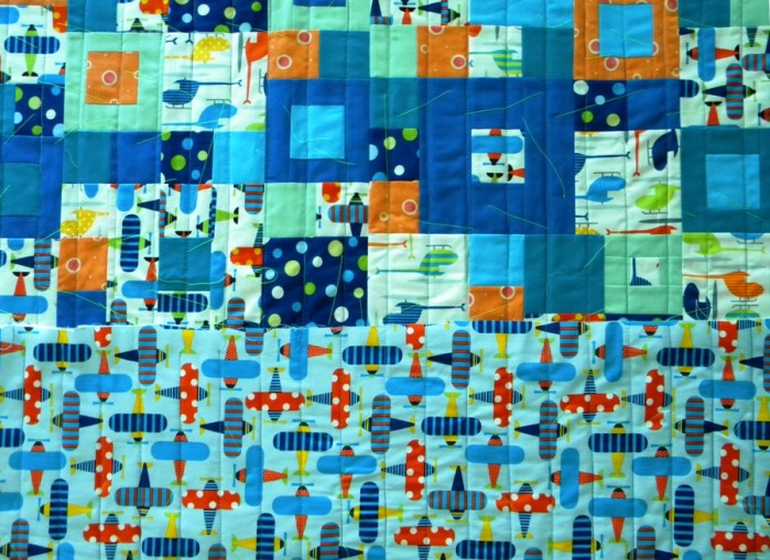Seeing Squares - Completed Quilt