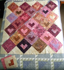 Bali Love Song - Planning Pieced Top Layout