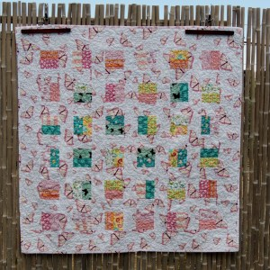 Butterfly Baby Quilt - Completed Quilt Top