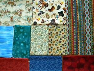 Kampner Baby Quilt - Fabric