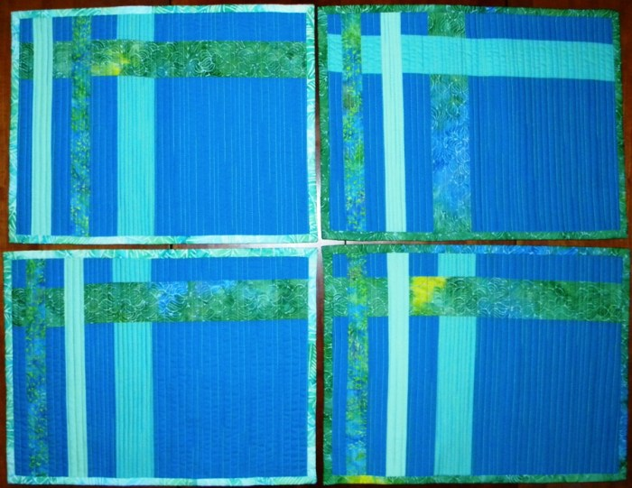 Completed Placemats