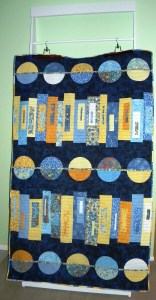 Modern Mystery Quilt - Completed Quilt