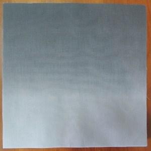 Synesthetic Alphabet - Grey Gradient Fabric