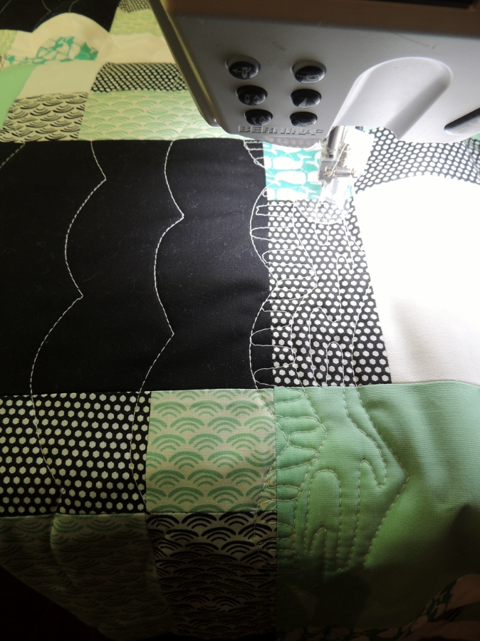 Whale of a Time - Quilting!