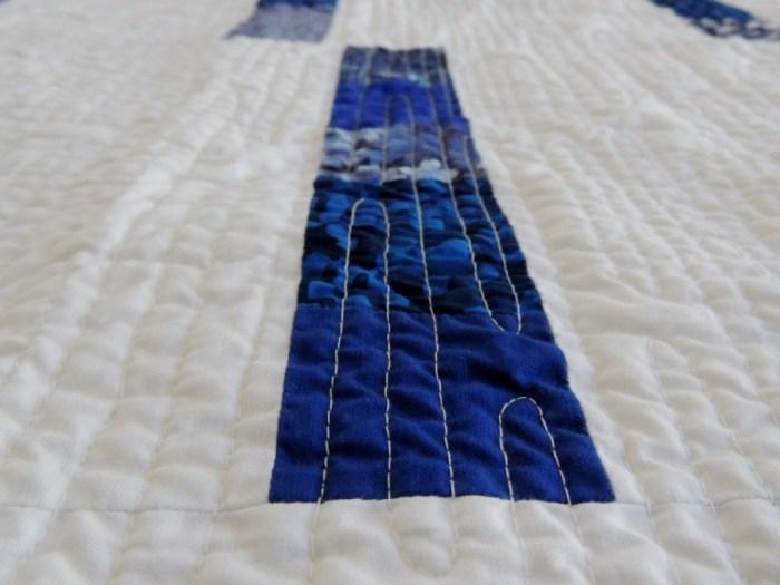 Blue Spring Rain - Detail