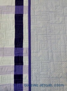 Color Weaving I - Quilting Detail