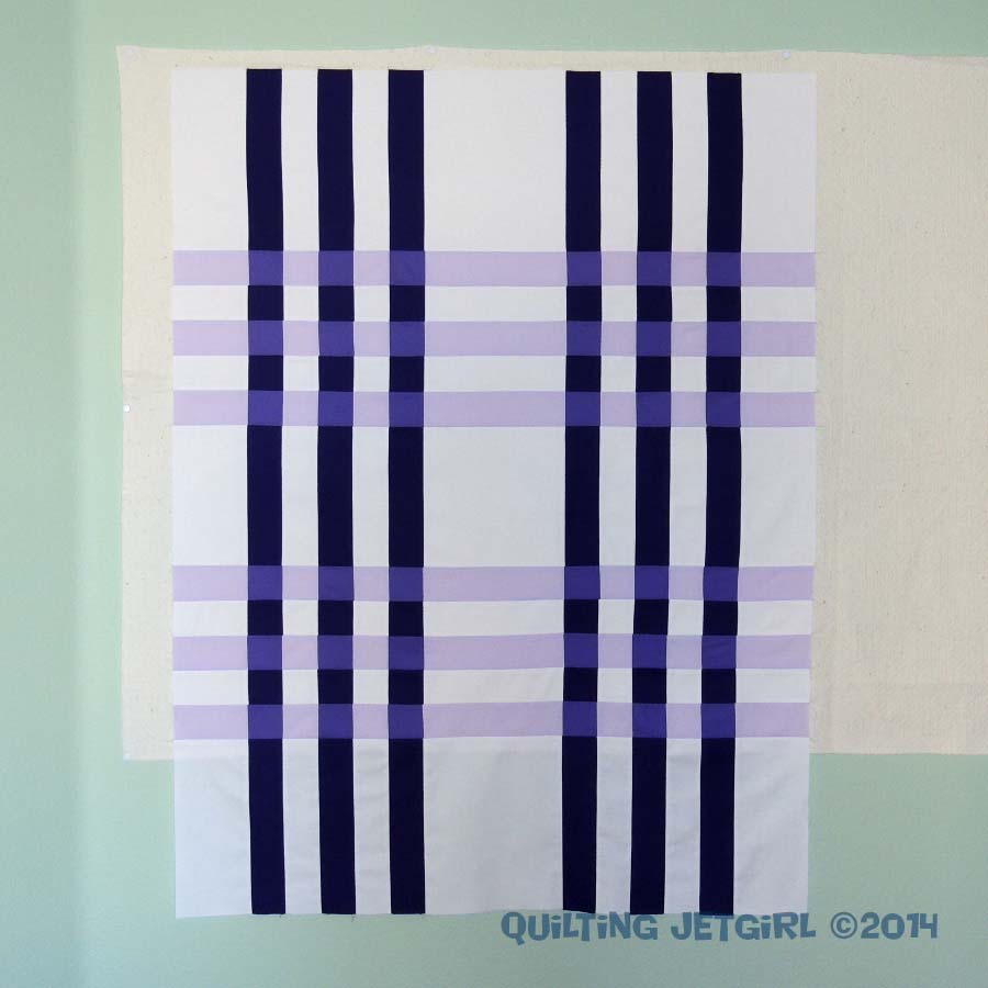 Color Weaving I by Quilting Jetgirl - Pieced Top