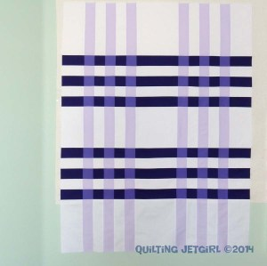 Color Weaving - Quilt Top