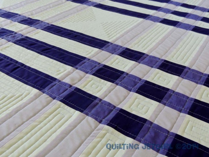 Color Weaving II - Quilting Detail