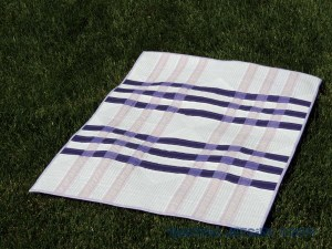Color Weaving II - Completed Quilt