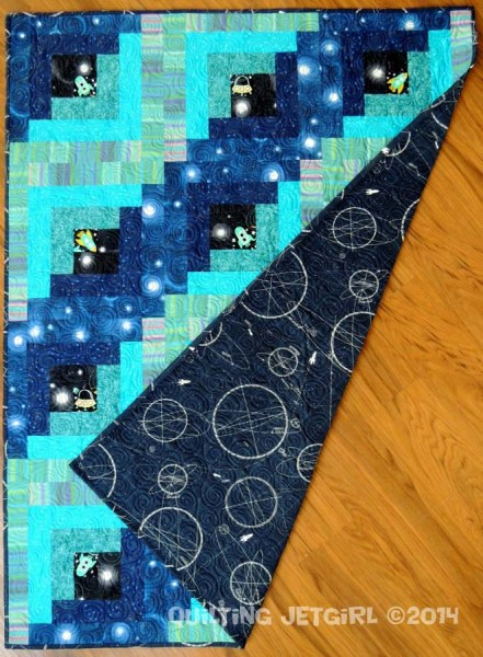 Solar System - Completed Quilt