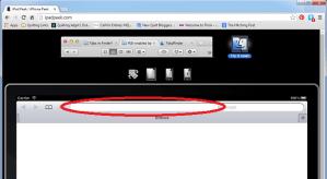 ipadpeek URL Box