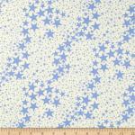 Cabana Star - Cream and Blue